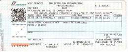 Italy ,  Venezia S.Lucia - Milano Centrale  , Railway  Ticket  ,   2015 - Europe
