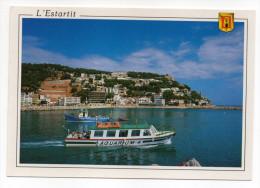 Espagne--L´ESTARTIT--Vue Partielle (bateau Aquarium 4)  Cpm N°80  éd Fisa-Escudo De Oro - Gerona