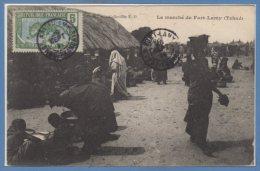 AFRIQUE - TCHAD -- Le Marché De Fort Lamy - Chad