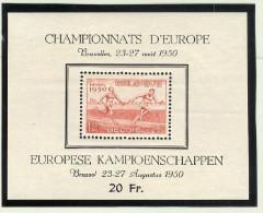Belgien 1950 Mi# Block 23 ** Postfrisch - Blocs 1924-1960
