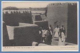 AFRIQUE - TCHAD -- Sur Les Terrasses - Tchad