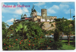 "Espagne-Baleares--PALMA DE MALLORCA--Molinos"" Jack El Negro"" Cpsm 15 X 10   N°103 éd Bohigas - Palma De Mallorca"