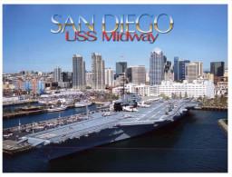 (900) Aircraft Carrier USS Midway - Porte Avions - - Guerre
