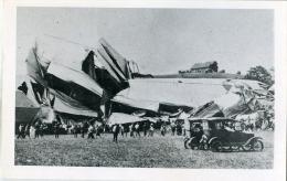 Caida De Un Zeppelin  - 313 - Dirigeables