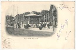59 - VALENCIENNES - Concert à La Place Verte - 1901 - Valenciennes