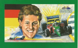 Australian Formula One GRAND PRIX Adelaide South Australia - Michael Schuhmacher Germany - Benetton - Ford - 2 Scan - Grand Prix / F1