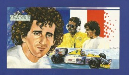 Australian Formula One GRAND PRIX Adelaide South Australia - Alain Prost France - Williams - Renault  - 2 Scan - Grand Prix / F1