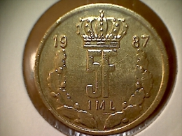 Luxembourg 5 Francs 1987 - Luxembourg