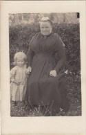 PAIMPONT : Le Costume - Madame Goujon - Très Rare Carte Photo