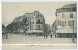 Rennes L'avenue De La Gare - Rennes