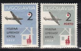 Yugoslavia,Red Cross 1957.,MNH - 1945-1992 Repubblica Socialista Federale Di Jugoslavia