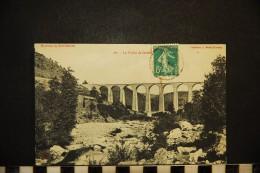 CP, 07, Environs De TOURNON Le Viaduc De Duzon N° 267 Voyagé - Francia