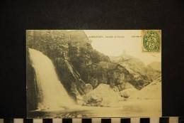 CP, 07, ANTRAYGUES Cascade De L'Azuet Voyagé En 1907 - Otros Municipios