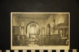 CP, 01, ARS Sur FORMANS Environs De TREVOUX Intérieur De L'ancienne Eglise N° 58 Voyagé En 1905 - Ars-sur-Formans