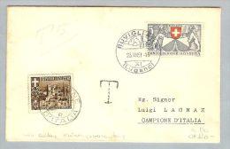 Campione 1951-08-23 Taxierter Brief 10Rp Als Portomarke - Autres - Europe