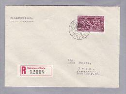 Campione 1944-10-21 R-Brief Nach Bern - Autres - Europe