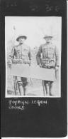 2 Soldats Américains En Tenue Complète Photo Légéndée Foreign Legion Cook 1 Photo 1914-1918 Ww1 Wk1 - War, Military