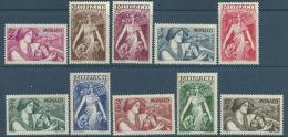 """Monaco YT 215 à 224 """" Au Profit Oeuvres Charitables Série 10TP """" 1941 Neuf** - Monaco"""