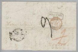 Dänemark 1856-10-23 Kopenhagen Brief Nach Mugron France - Danimarca