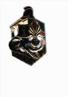 INSIGNE  DE  LA  C.A   DU 6 ° REGIMENT ETRANGER  GENIE  BALME  MATRICULE - Armée De Terre