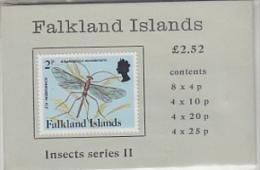 Falkland Islands1988 Insects Series II Booklet ** Mnh (22248) - Falklandeilanden