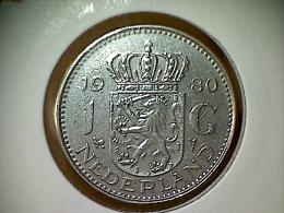 Nederland 1 Gulden 1980 - [ 3] 1815-… : Reino De Países Bajos