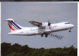 ATR.42 Air France Airlines ATR-42 Aereo Avion ATR42 Aircraft Aviation Aiplane ATR 42  (Avions De Transport Régional) - 1946-....: Ere Moderne