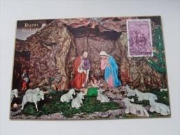 BUON NATALE Poste Vaticane - Anno 1966 ( Zie Foto Voor Details ) !! - Poste & Facteurs