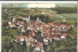 71 BISSY SOUS UXELLES CPSM VUE GENERALE AERIENNE 1973 - France