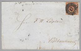 Dänemark 1855-04-30 Frederitia Mit Mi # 4 - 1851-63 (Frederik VII)