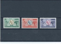 CAMBODGE 1965 - YT N° 161/163 NEUF SANS CHARNIERE ** (MNH) GOMME D'ORIGINE LUXE - Cambodia