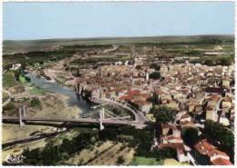 Rivesaltes - Vue Générale, La Ville Et L'Agly - Rivesaltes