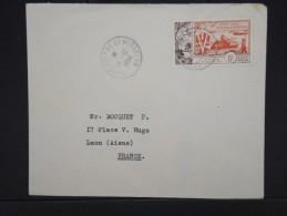 ST PIERRE ET MIQUELON-Enveloppe Pour La France En 1954 Aff P.A. ( Débarquement)   à Voir  P6136 - Poste Aérienne