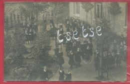 Fosse-la-Ville - Ecole Pour Jeunes Filles - Cour De Récréation - Carte Photo, écrite Par Une élève - 1912 ( Voir Verso ) - Fosses-la-Ville