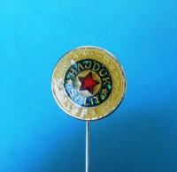 FC HAJDUK SPLIT - Football Soccer Club Croacia Ex Yugoslavia Old Pin Badge Fussball Futbol Futebol Calcio Anstecknadel - Fútbol