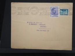 ROUMANIE-Enveloppe De Bucarest Pour Cracovie En 1936  Aff Timbres Perforés    à Voir  P6142 - 1918-1948 Ferdinand, Charles II & Michael