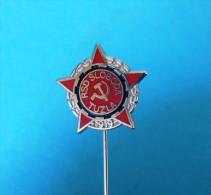 FC SLOBODA Tuzla - Football Soccer Club Bosnia Ex Yugoslavia Old Pin Badge Fussball Futbol Futebol Calcio Anstecknadel - Fútbol
