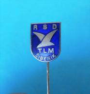 FC TLM SIBENIK - Football Soccer Club Croacia Ex Yugoslavia Old Pin Badge Fussball Futbol Futebol Calcio Anstecknadel - Fútbol