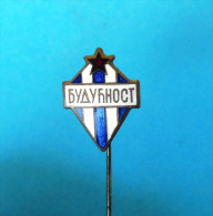 FC BUDUCNOST - Football Soccer Club Montenegro Ex Yugoslavia Old Pin Badge Fussball Futbol Futebol Calcio Anstecknadel - Fútbol