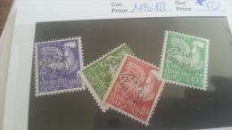 LOT 261079 TIMBRE DE FRANCE NEUF* N�119 A 122 VALEUR 50 EUROS