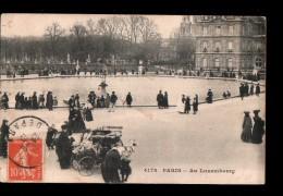 75 PARIS VI Jardin Du Luxembourg, Voiture à Chèvres, Ed ? 4178, 1910 - Arrondissement: 06