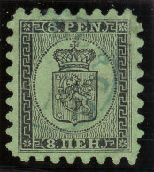 Finnland 1866 Mi# 6Ax Gest. Blau Luxus Zähnung - 1856-1917 Administration Russe