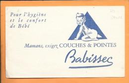 BUVARD 20 X 12: Hygienne Bébé Couches & Pointes Babissec - Buvards, Protège-cahiers Illustrés