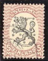 Finnland 1925 Mi# 123Ay Gest. Zähnung 14 1/4 / 14 - Finlande