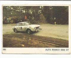 IMAGE AMERICANA MUNICH - AUTOMOBILE - RALLYE - ALFA ROMEO 2000 GT - Sin Clasificación