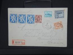 BELGIQUE-Enveloppe En Recommandée De Bruxelles Pour Beaulieu En 1946 ( D´ Hotel A Hotel) à Voir    P6158 - Belgium