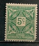 Timbres - France (ex-colonies Et Protectorats) - Côte-d´Ivoire - 1915 - Taxe - 5c.  -