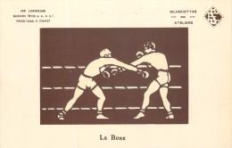 SPORT - LA BOXE BOXEURS - IMP. LUMINEUSE RADIANA ( BTEE S.G.D.G. ) PARIS - EN SUP.ETAT - Boxing