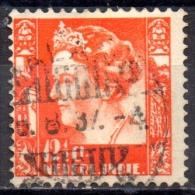 NETHERLANDS INDIES 1933  Queen Wilhelmina  -121/2c - Red  FU SOME PAPER ATTACHED - Niederländisch-Indien