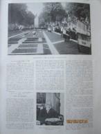 1936 L Inauguration à LILLE   De La Statue Du Marechal Foch - Vieux Papiers